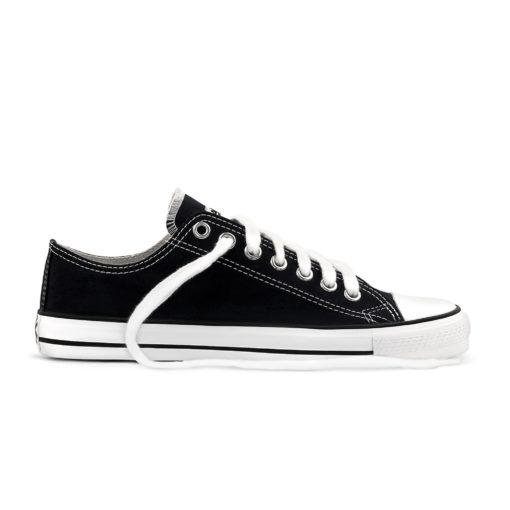 Etiko Sneakers Lowcuts Black & White (white trim)