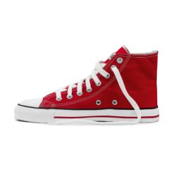 Etiko Sneakers Hitops Red (white trim)