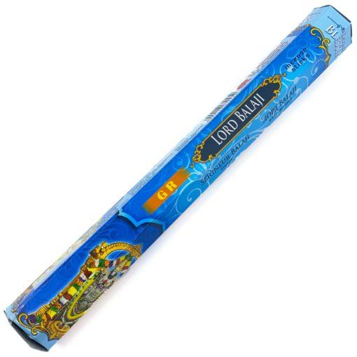 GR Incense LORD BALAJI Hex 20 sticks