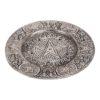 Silver Pentacle Incense Burner 12cm