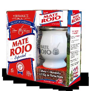 Mate Rojo Kit - Yerba Mate